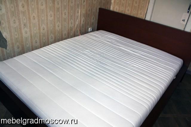 Кровать с матрасом   икеа